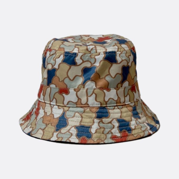 Far Afield Reversible Bucket Hat a Multi Colour BCI Cotton Fabric