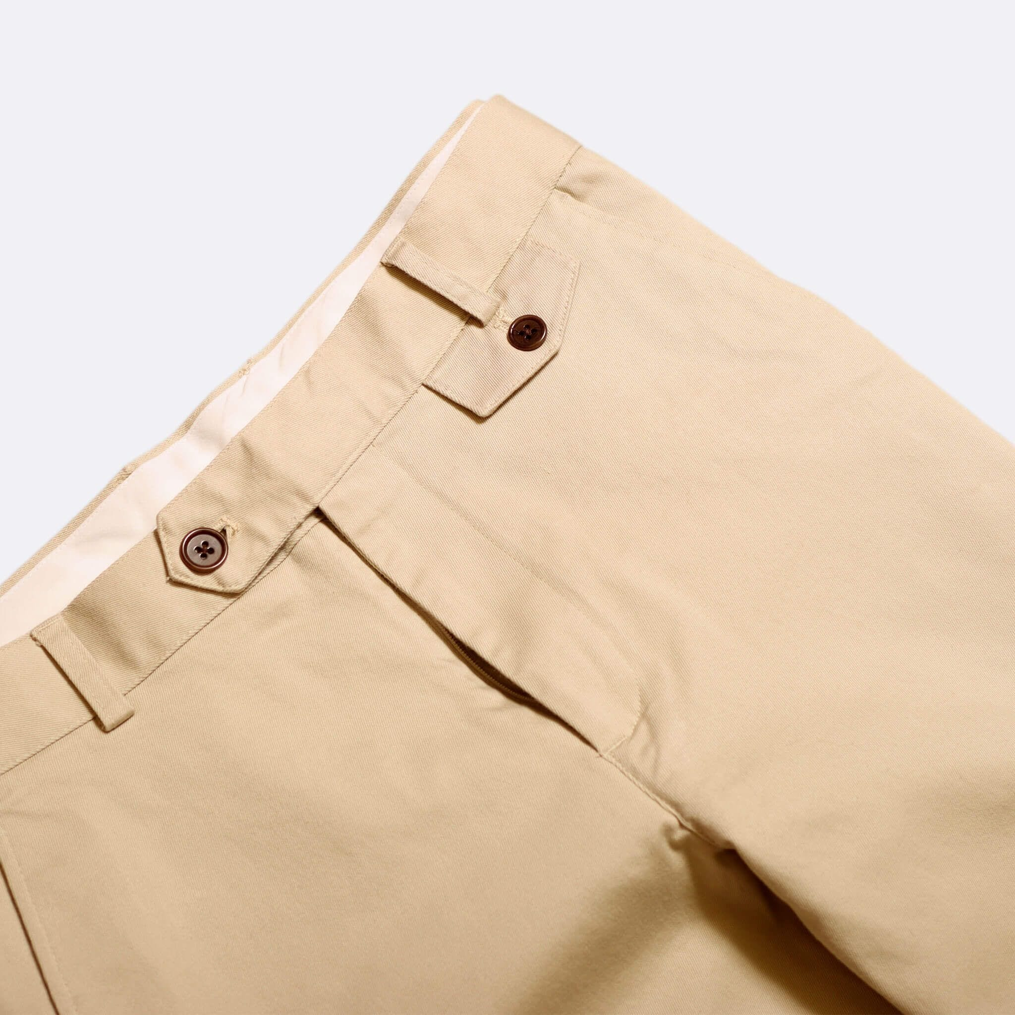 Far Afield Tricker Trousers a Pumice Stone BCI Cotton Twill Classic Tailored Smart Casual Trousers 2