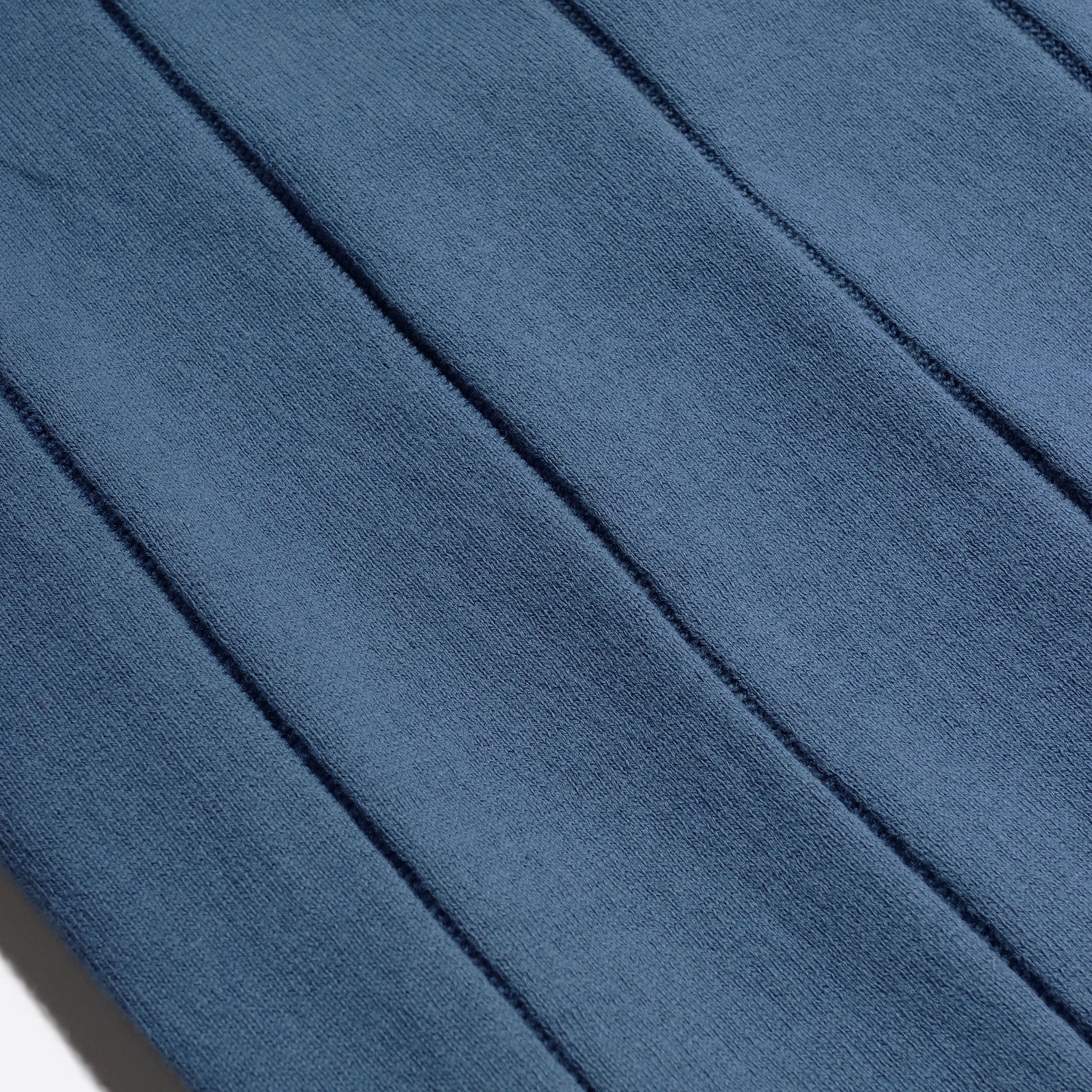 Far Afield Jacobs Short Sleeve Polo a Ensign Blue Organic Cotton FabricMid Century Inspired 5