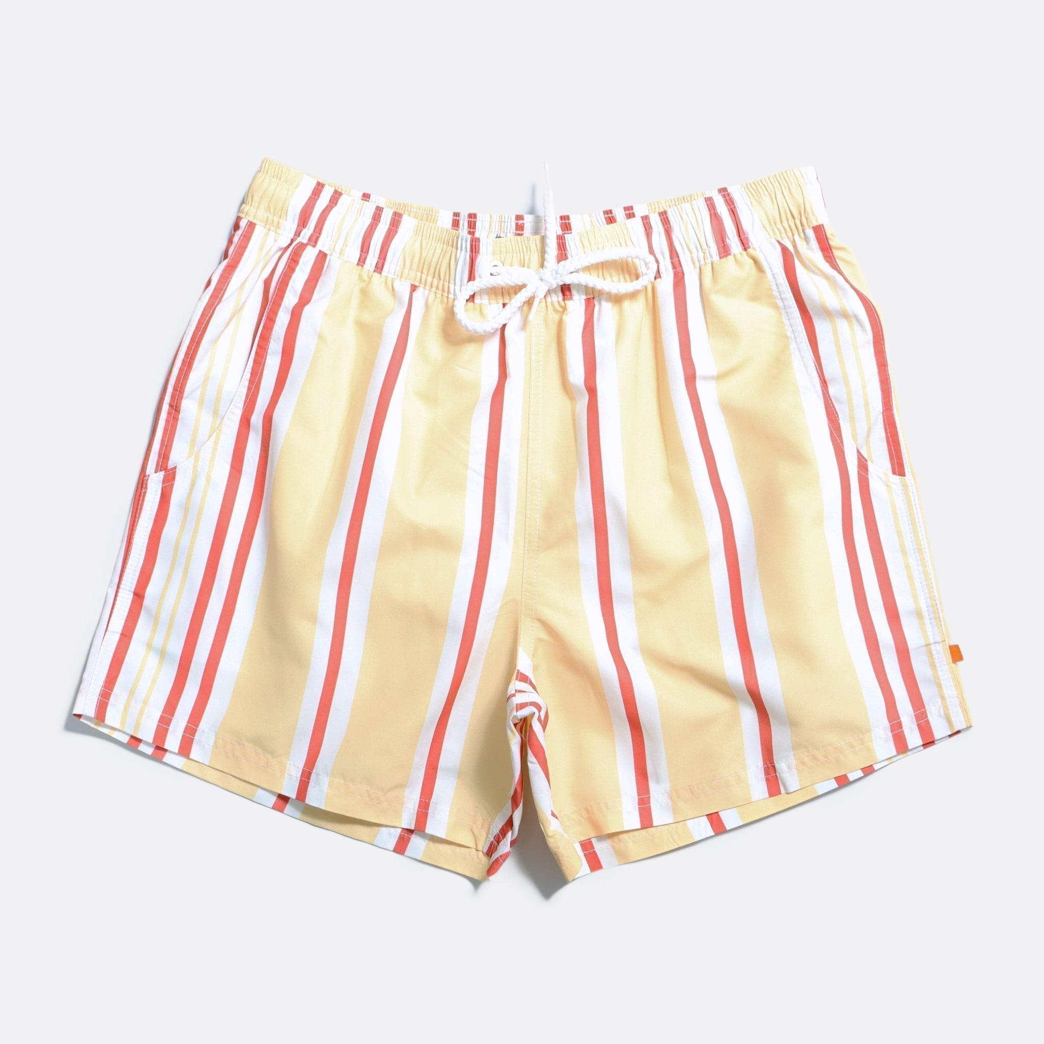 Far Afield Printed Swimshorts a Multi Colour Recycled Plastic Sustainable Fabric