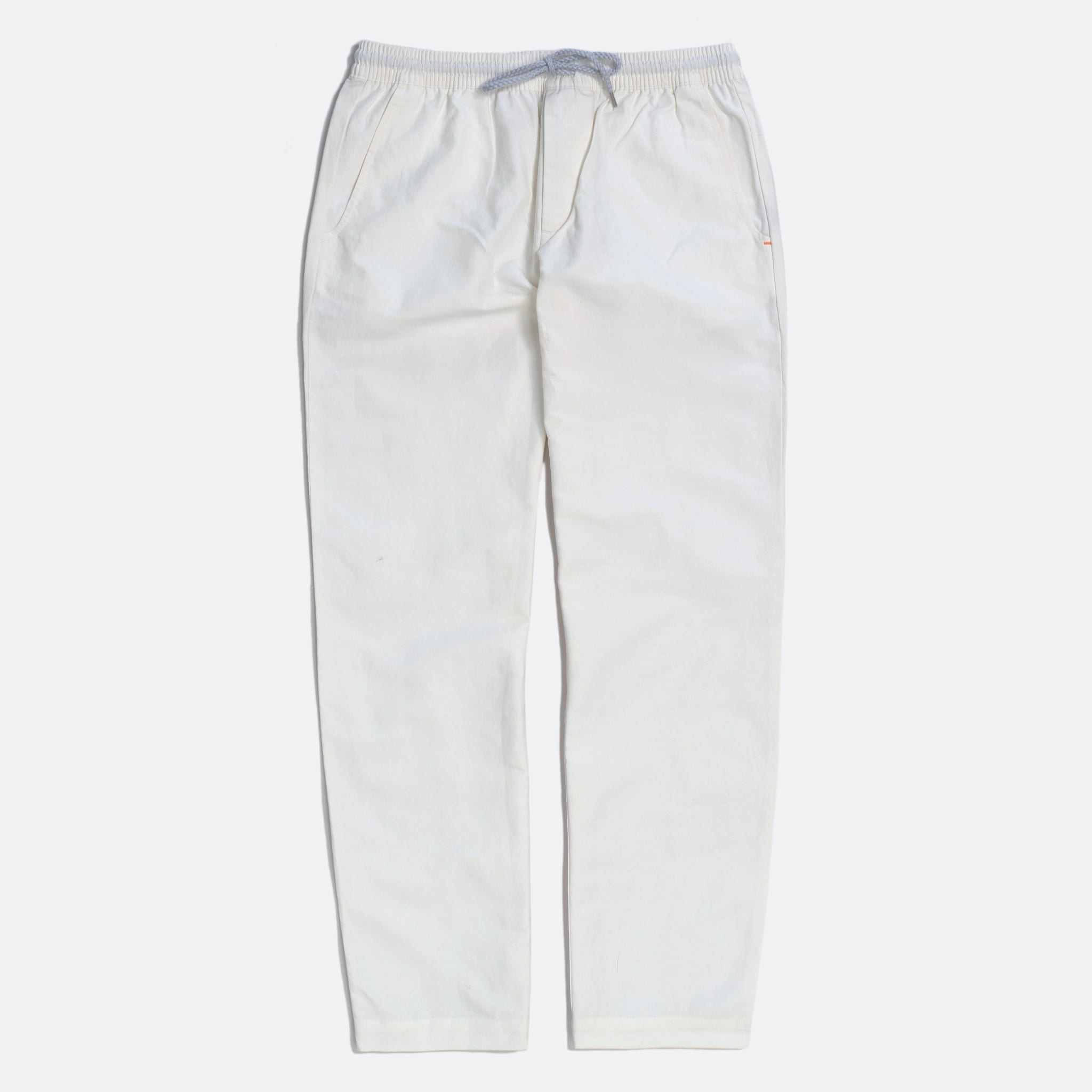 Far Afield House Trousers a White Sand Linen Fabric Smart Casual