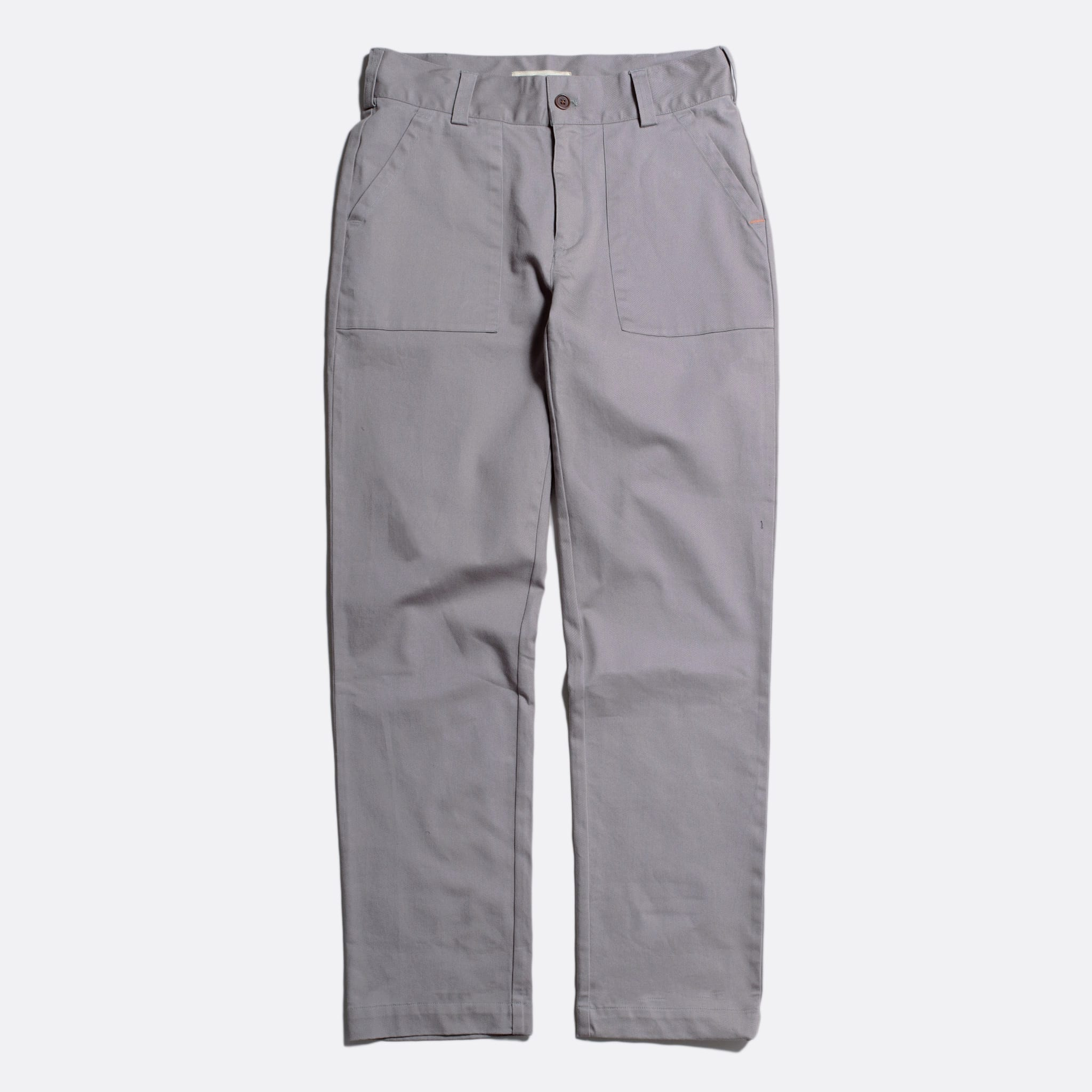 Far Afield Coup Trousers a Cloudburst Grey Organic Cotton Twill FabricClassic Work