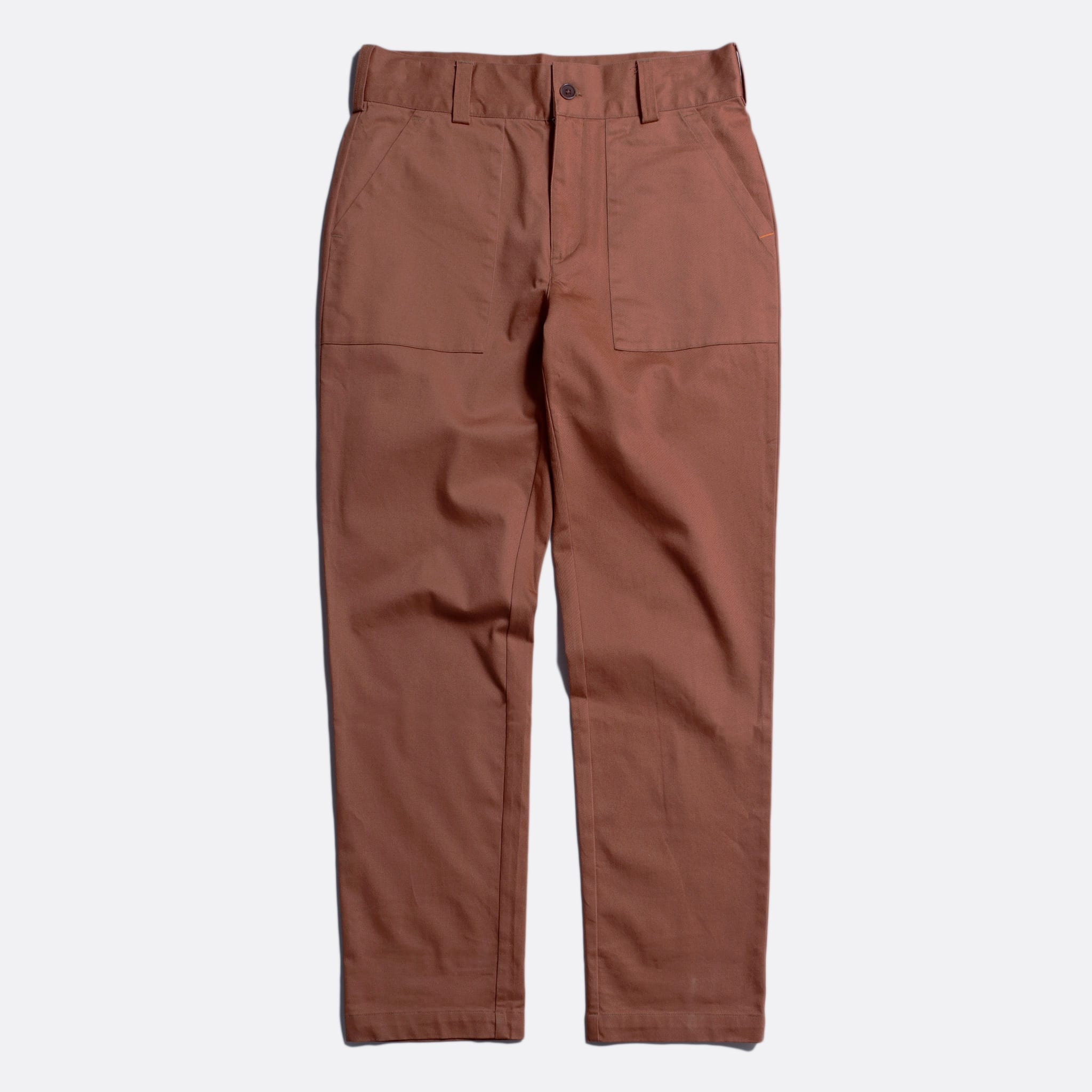Far Afield Coup Trousers a Thrush Brown Organic Cotton Twill FabricClassic Work