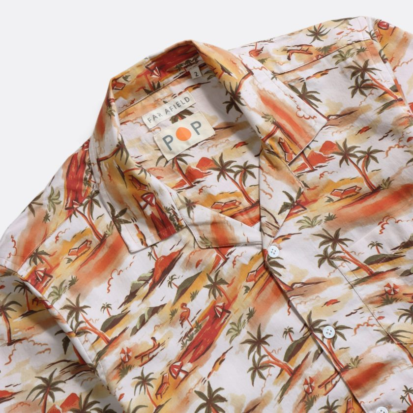 Far Afield 'POP' Stachio Short Sleeve Shirt 'POP' SS21 2