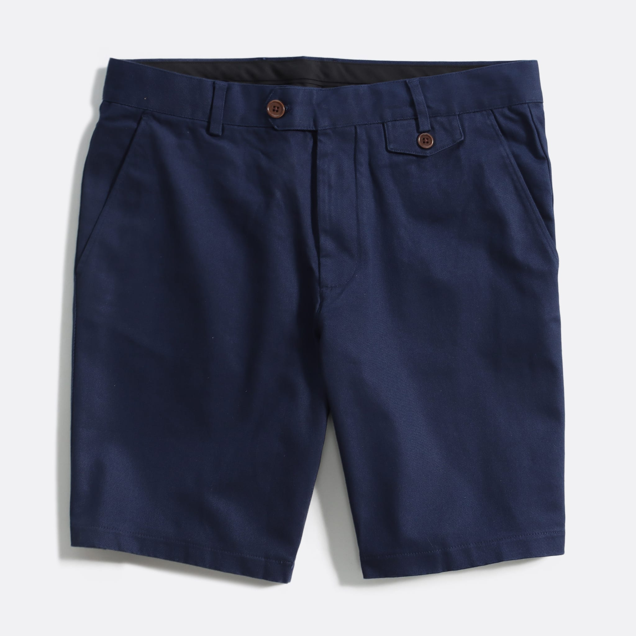 Far Afield Tricker Shorts a Ensign Blue Organic Cotton Twill FabricSmart Casual