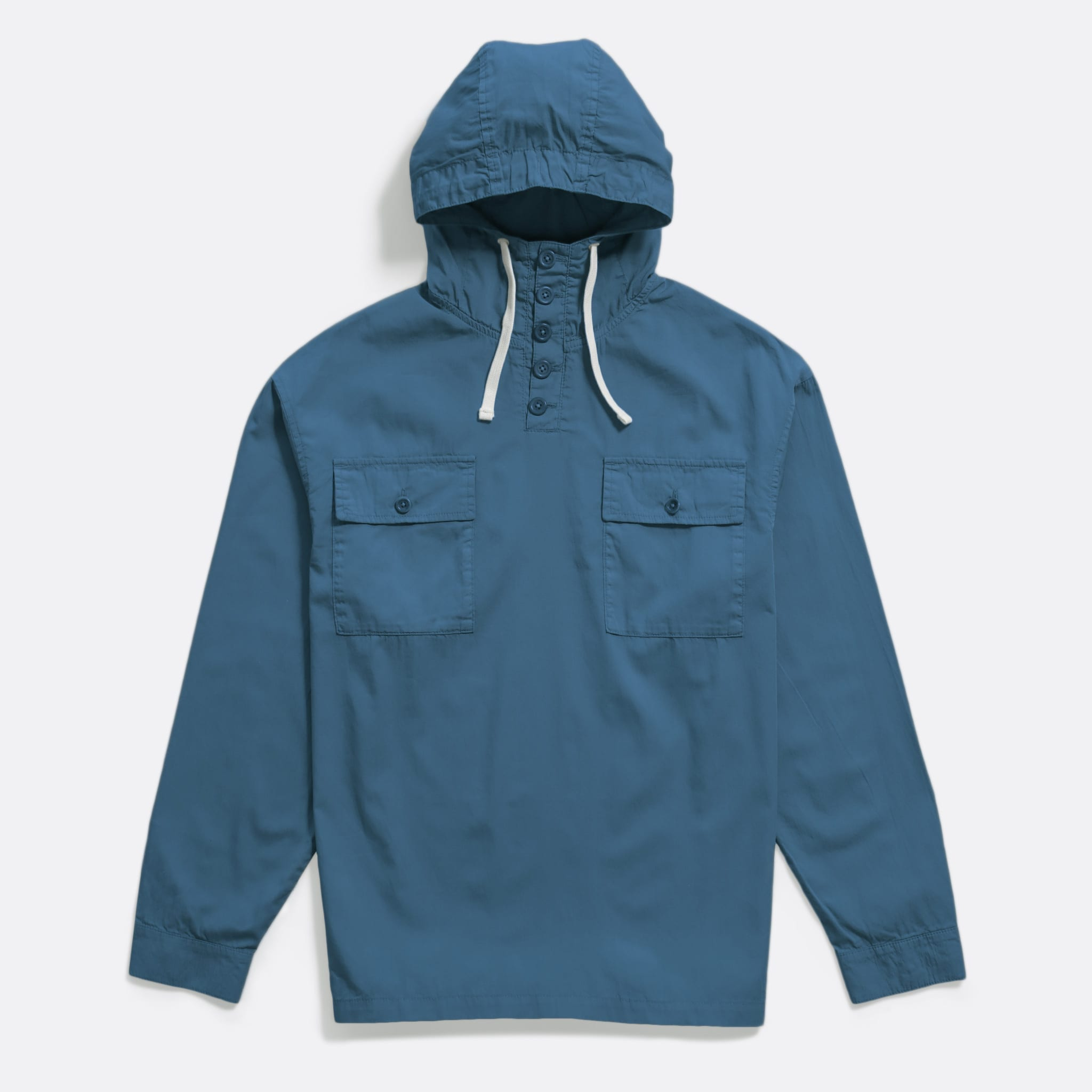 Far Afield Portree Smock a Ensign Blue BCI Cotton Portree Smock Jacket